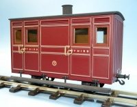 Festiniog Railway Third Class Ashbury 4-Wheel Carriage Kit
