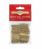 Bachmann Big Haulers G Scale Brass Rail Joiners