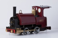 MSS Fired Maroon Saddle Tank 45mm