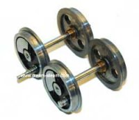 MSS Mamod Loco Spares - Single 32mm or 45mm Axle & Wheels