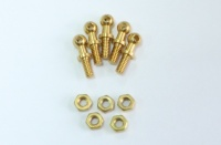 MSS, Mamod & Roundhouse Enhancements - Brass Handrail Knobs