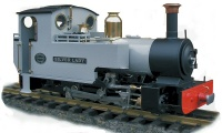 Roundhouse Locomotives - Silver Lady