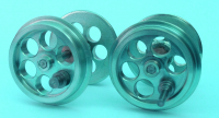 MSS Mamod Upgrade Parts - Loco Vented Steel Wheels Set