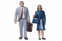 16mm Scale Locomotive Standing Man and Woman