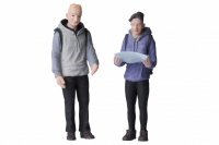 G Scale Man and Woman Hikers