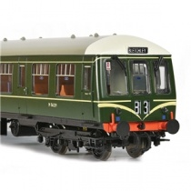 Bachmann OO Gauge Class 108 2-Car DMU BR Green (Speed Whiskers)