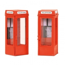 Bachmann OO Gauge K8 phone boxes (x2)