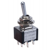 3A DPDT Miniature Toggle Switch On-on