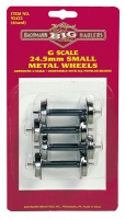 Bachmann Big Haulers G Scale Small Wheel Set x4