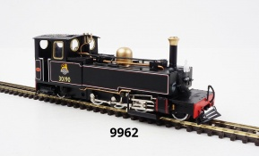 OO9 model 9962 - 30190 'LYD' in lined BR black