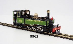 OO9 model 9963 E190 'LYD' in Southern lined green