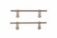 MSS Mamod Enhancements - Brass Cab Hand Rails