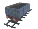 MSS Real Wood Coal Wagon