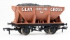 Dapol OO Gauge 24t Steel Ore Hopper Clay Cross