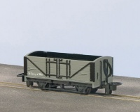 Peco OO-9 Open Wagon, Grey Unlettered