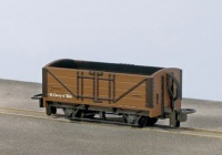 Peco OO-9 Open Wagon, Brown Unlettered
