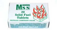 MSS Mamod Solid Fuel Pack - 20 Tablets