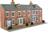 Metcalfe OO/HO Scale Low Relief Red Brick Terraced House Fronts