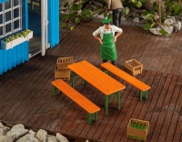 Pola G - Beer Table and Benches