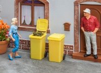 Pola G - 2 Refuse Bins, Yellow