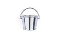 Roundhouse Bucket Turned in Aluminium