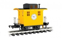 Caboose Short Line Railroad - Yellow with Black roof - Li'l  Big Haulers
