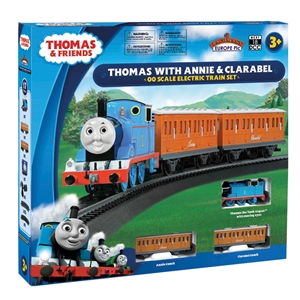 Bachmann OO Thomas with Annie and Clarabel - moving eyes DCC Ready