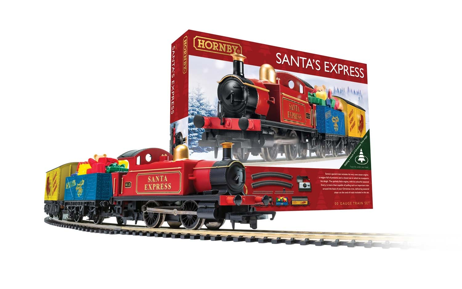 Hornby OO Gauge Santa's Express Train Set
