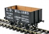 Dapol O Gauge 7 Plank Wagon 9' Wheelbase ED Williams 242
