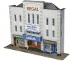 Metcalfe N Scale Low Relief Cinema