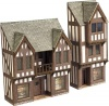 Metcalfe N Scale Low Relief Timber Farmed Shops