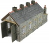 Metcalfe N Scale Stone Single Track Engine Shed