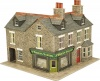 Metcalfe OO/HO Scale Coner Shop In Stone